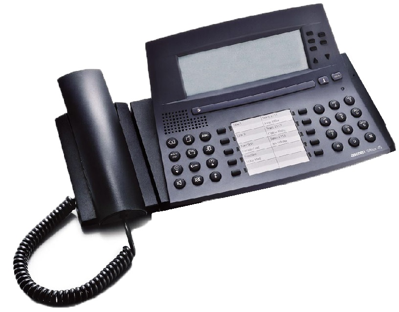 Ascom Office 45 Handset Black